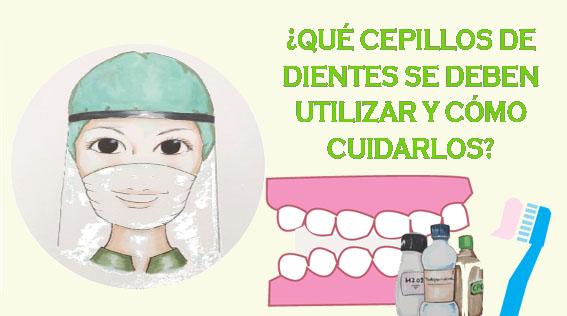 ¿Qué cepillos de dientes se deben utilizar?